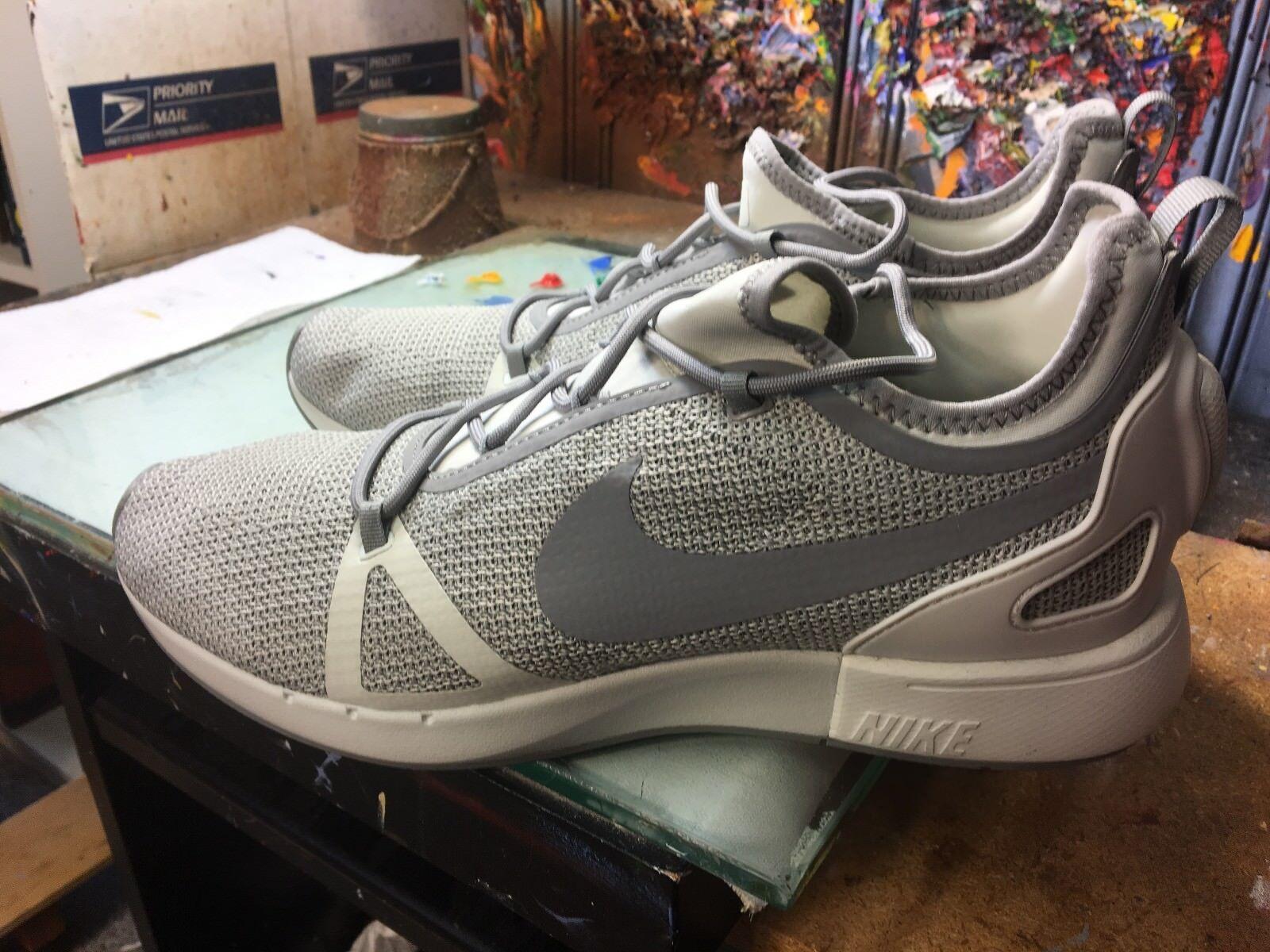Nike Duel Racer Pale Grey Dust  NIB Size US 13 Men 918228 004 NO BOX LID