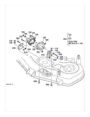 New OEM Kubota Gearbox Repair Kit K5764-33100 RCK54-24B S//N less than 32705