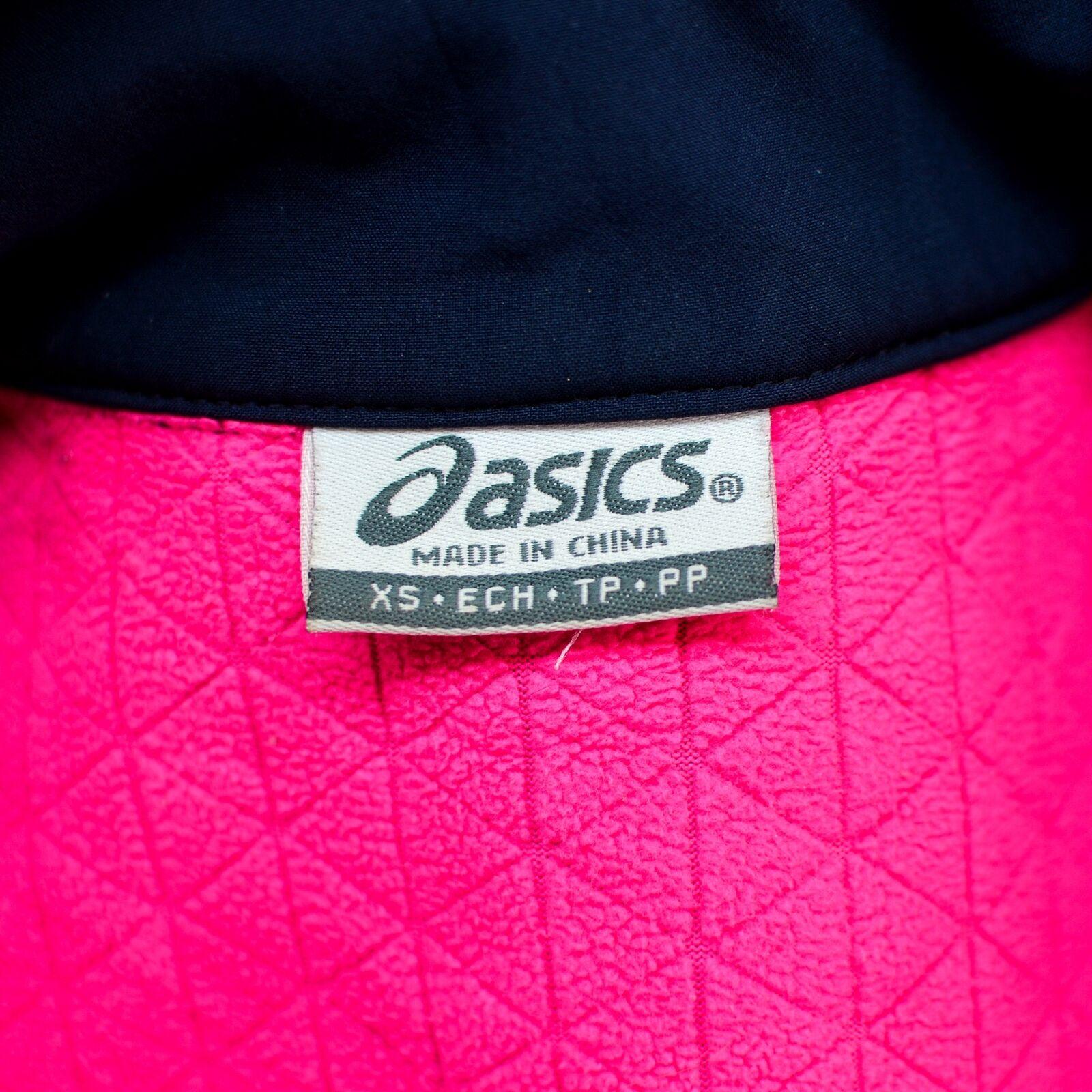 Asics Damen Active Wear Trainingsjacke Vlies Reißverschluss Gefüttert Bezug Coat