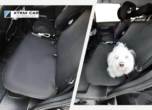 Double-protection de coffre arrière banquette transport de chien paast pour PEUGEOT PARTNER
