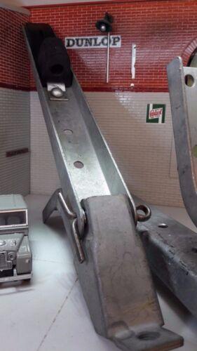 Terminer galvanisé seat back rest Charnières x2 LAND ROVER Série 1 86 88 107 109 C
