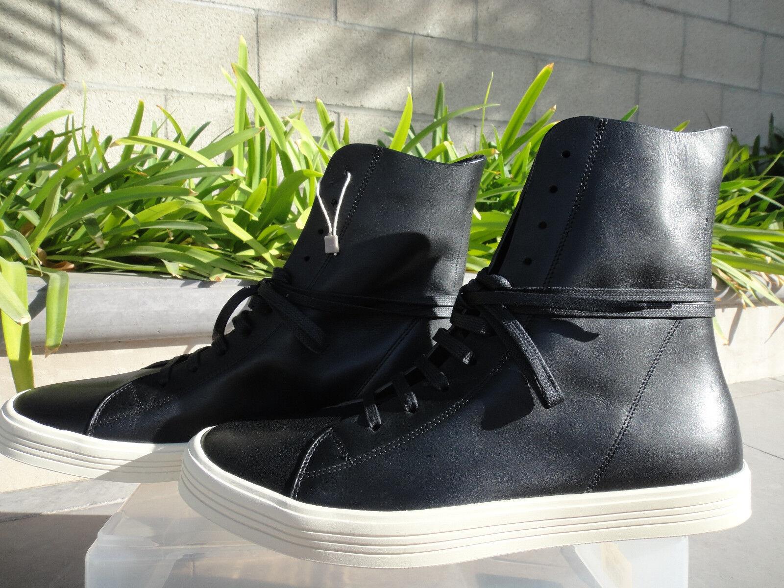Rick Owens MASTODON scarpe da ginnastica, Hi Top Leather , Pick US Dimensione  NIB MSRP 1050