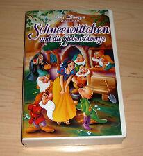 VHS - Schneewittchen und die Sieben Zwerge ( 7 ) - Zeichentrick - Videokassette