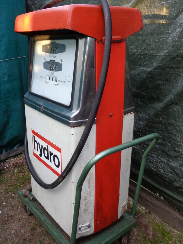 Andre samleobjekter, Benzinstander