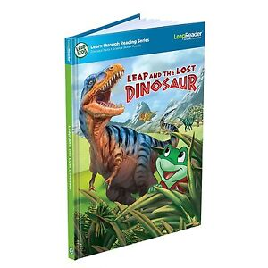 LeapFrog-LeapReader-Book-Leap-and-the-Lost-Dinosaur-Ages-5-New-Toy-Play-School