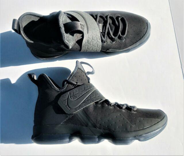 reputable site cbed8 c6d3a Nike Lebron XIV 14 Lmtd PE Size 10 Zero Dark Thirty Triple Black 852402-002