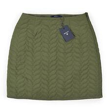 GANT Damen Rock S 36 Minirock Military Green Woman Skirt Stepprock NEU