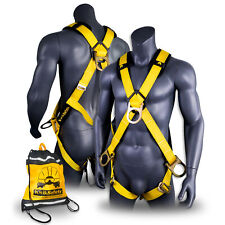 Kwiksafety Monsoon 4 D Ring Full Body Safety Harness Ansi Fall Protection
