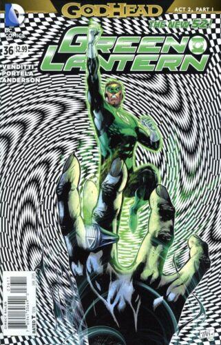 DC Green Lantern #36 Comic Book 2014 GODHEAD New 52