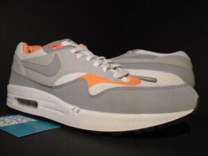 nike air max 1 white grey orange