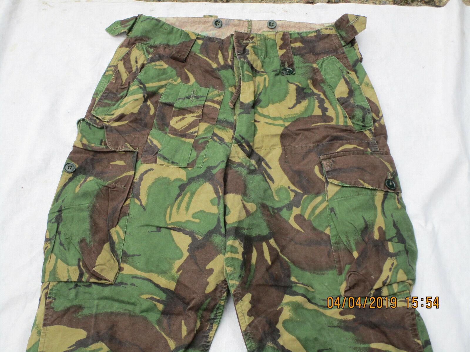 Trousers Combat Windproof Arctic, SAS Camo Pants, Size 82 80 96, Small -long