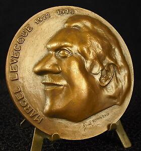 Medal-170-G-68-mm-Marcel-Levecque-1922-1979-by-Paul-Barrel-1980-Medal