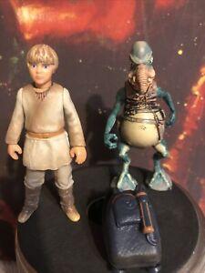 Hasbro Star Wars Episode I Action Figure 1998 Lot of 2 Watto Anakin Skywalker
