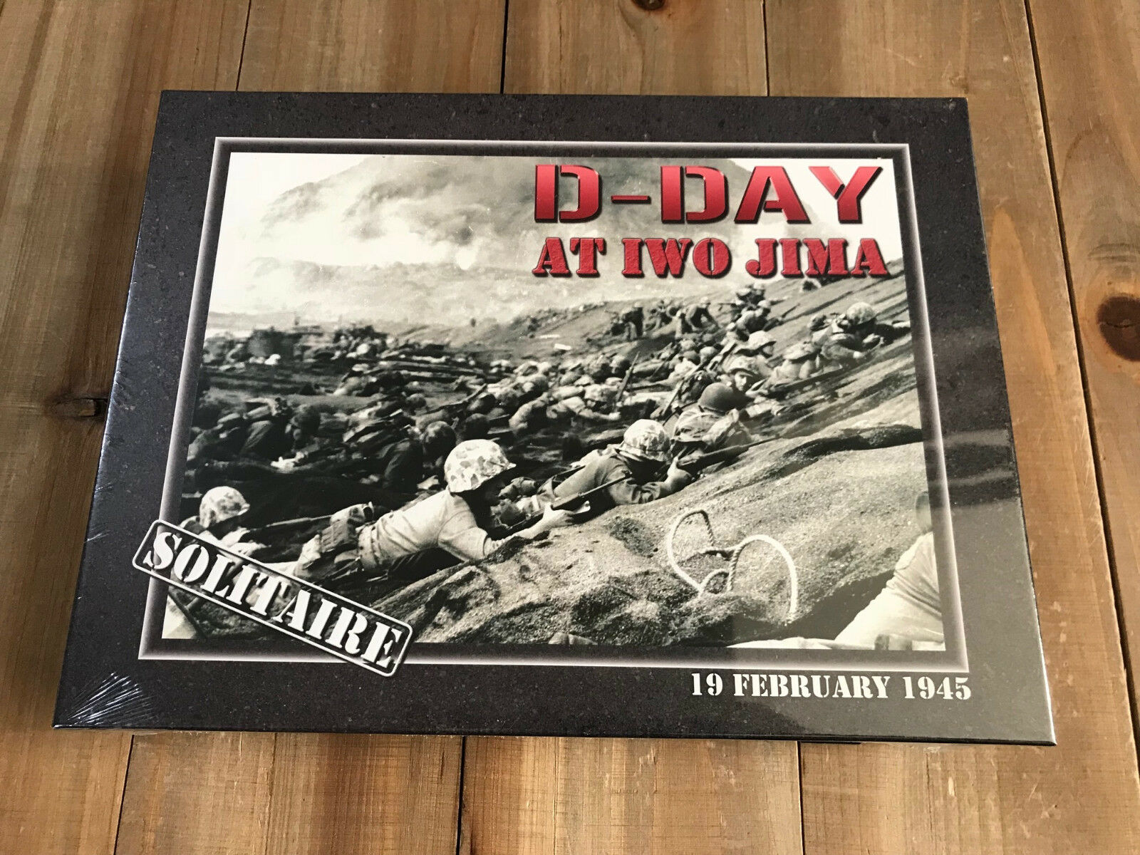 Wargame D-DAY AT IWO JIMA - Decision Games Edition with Board Mounted - WWII