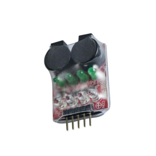1PCS Low voltage Alarm Buzzer 7.4-14.8V 2-4S Cell Lipo Battery Dual Speaker LED