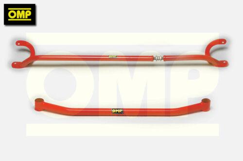 Omp upper//lower strut brace fiat seicento 1.1 sporting