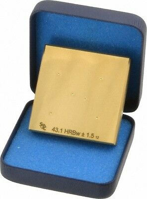 Hardness Calibration Test Block C45 Hard... Made in USA Rockwell C Scale Steel