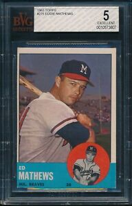 1963-Topps-Baseball-Eddie-Mathews-275-BVG-5-BRAVES-EX-HOF