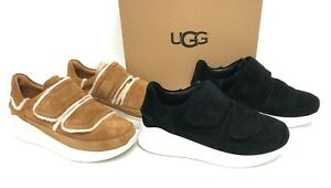 4dbd0bc3d8d Details about Ugg Australia Ashby Spill Seam Sneaker Chestnut or Black  1095095 Chunky Shoes