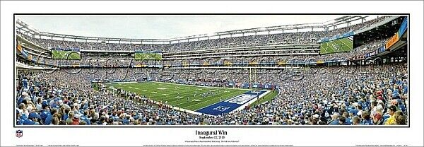 New York Giants Stadium NFL Football Panorama Image Impression, 39 3 8in View