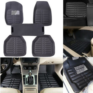 5Pcs-set-universal-grey-car-floor-mats-auto-floor-liner-leather-carpet-mat-0U