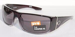 ac95568080 SPY OPTICS Cooper XL Sunglasses Black Fade Grey NEW 670036316129 ...