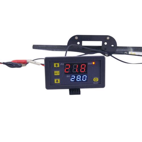 W3230 12V//24V 20A 110V-220V 10A Digital LCD Thermostat Temperature Controller