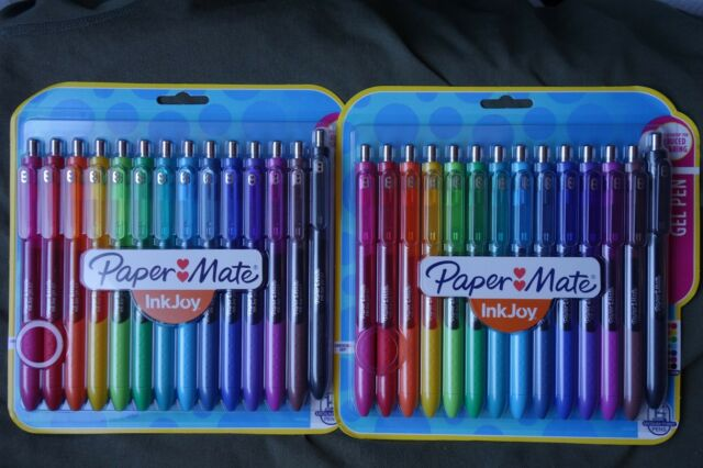 Paper-Mate Inkjoy 14 Medium-Point Gel Pens , 2 sets