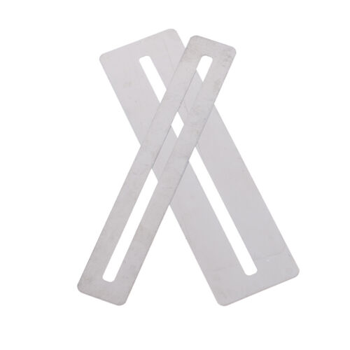 2pc guitar bass fretboard bendable stainless steel fingerboard guard protectorFB