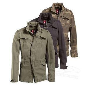 SURPLUS-Vintage-Jacke-Delta-Britannia-M65-Feldjacke-Regiment-Giant-Army-Parka