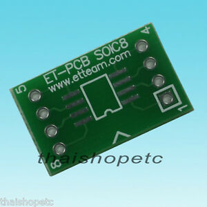2-pieces-SOIC-8-to-DIP-8-pin-Adapter-PCB-SMD-Convert-15-24mm-0-6inc