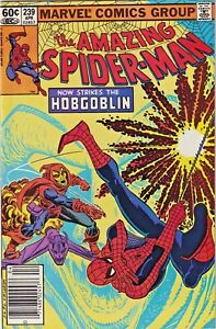 AMAZING-SPIDER-MAN-239-VF-NM-1983-HOBGOBLIN-MARVEL-BRONZE-AGE-COMICS
