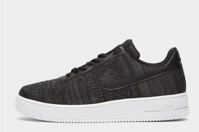 Nike Air Force 1 Flyknit 2.0 Schwarz Weiß Herren Sneaker Alle Größen Limitiert | eBay