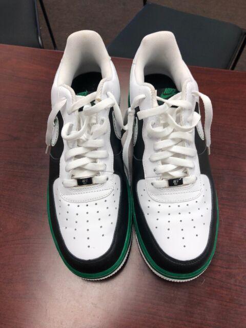 Nike Air Force 1 Black University Gold White 820266 011 Men's Running Shoes Sneakers