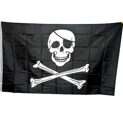 Fahne Flagge Pirat Säbel /& Dolch 90 x 150 cm
