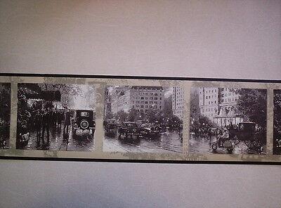 THOMAS KINKADE CITY OF LIGHTS WALLPAPER BORDER 30882610