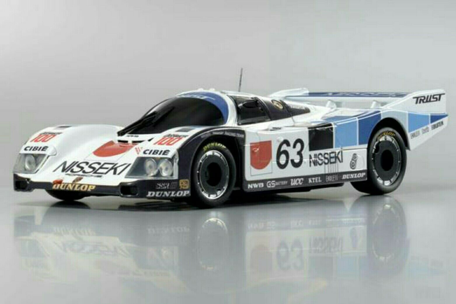 Kyosho Mini-Z Porsche 962 C LH Nisseki Trust Auto Scale Collection