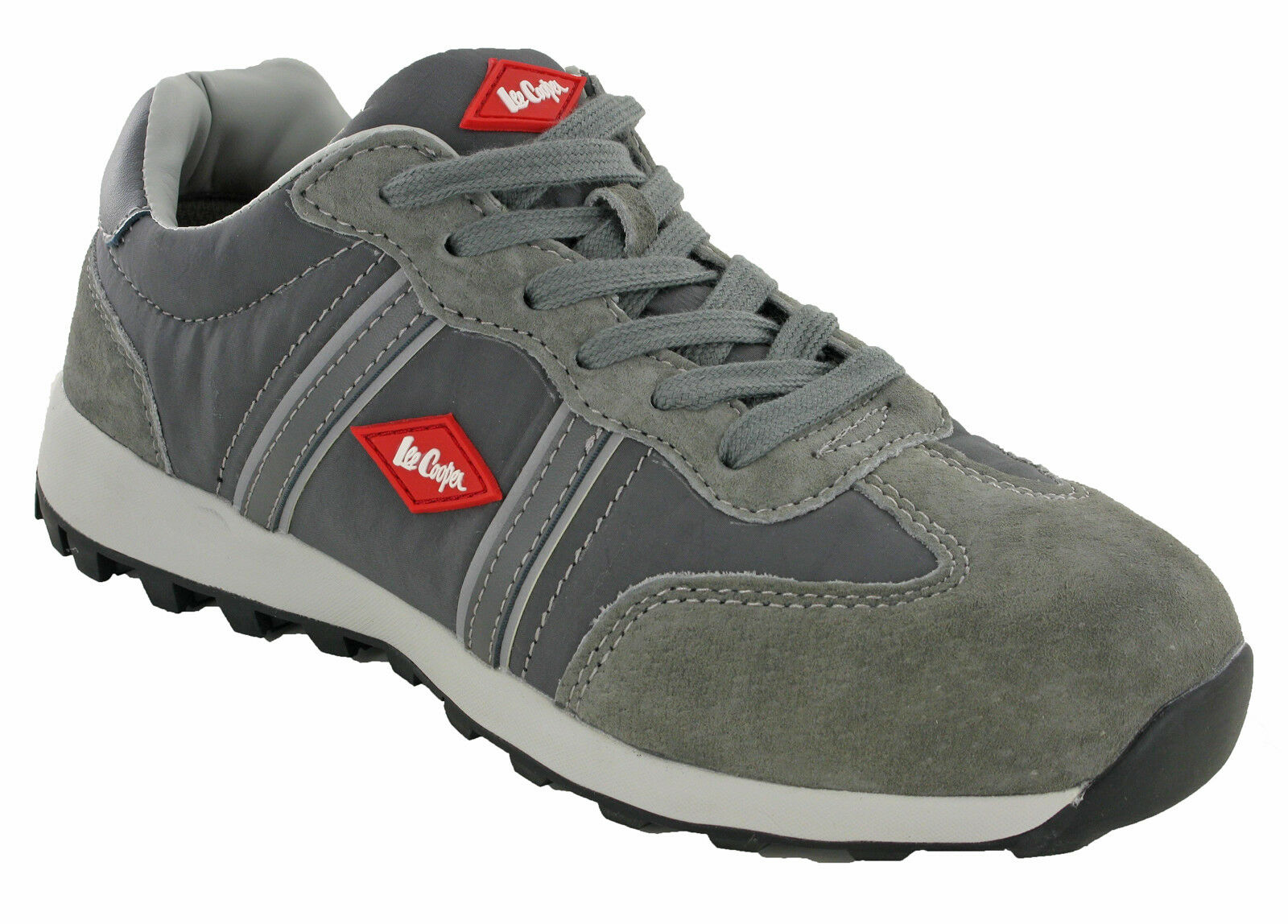 Lee Cooper Safety Trainers Composite Toe S1P Lightweight Metal Free Lace LC-112