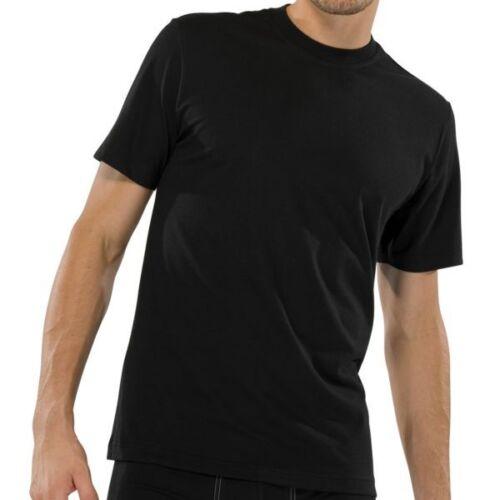 4 x Schiesser American t-shirts S M L XL XXL 3xl blanco negro de cuello redondo nuevo