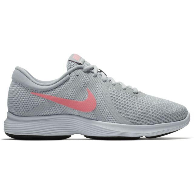 cbc00e61468a Nike Women s Revolution 4 Running Shoe Platinum sunset Pulse-wolf ...