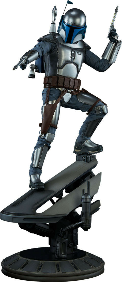 STAR WARS - Jango Fett 24.75  Premium Format Statue (Sideshow Collectibles)  NEW