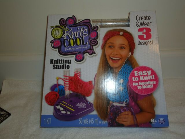 NEW KNIT'S COOL KNITTING STUDIO EASY TO KNIT