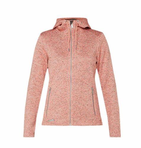 McKinley Femmes Randonnée Loisirs-Tricot-Polaire-Veste Dora rose