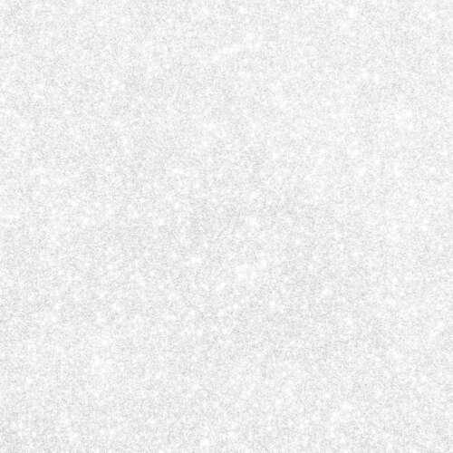 """Cricut Joy Smart Glitter Iron-On Vinyl 5.5/""""X19/"""" White 093573054860"""