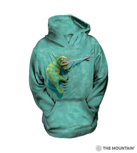 Escalade Chameleon Youth Boys /& Girls Hoodie Sweat-Shirt The Mountain