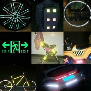 5cm Tape Roll Reflective Sticker Vinyl Cycling Car Bike Helmet Safety