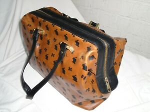 Monsoon-Accessorize-Doctors-Style-Hand-Bag-Bunnies-amp-Bows-Pattern-VGC