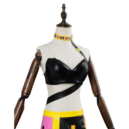 JoJo/'s Bizarre Adventure Golden Wind Trish Una Dress Cosplay Costume Full Set