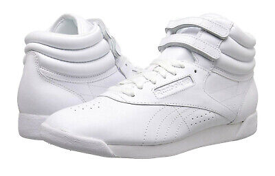 Reebok Freestyle J93534 White Leather Classic Shoes Youth