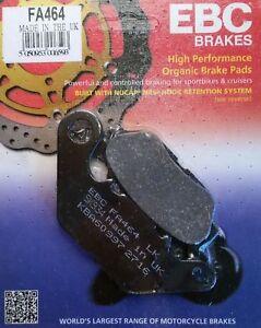 Yamaha-YBR125-CUSTOM-2008-2016-EBC-Organic-FRONT-Disc-Brake-Pads-FA464
